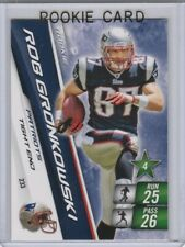 ROB GRONKOWSKI ROOKIE CARD 2010 Adrenalyn Football New England Patriots BUCS!
