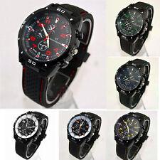 GT Military Mens Casual Sports Watches Designer Quartz Silicone Fashion Cheap WS