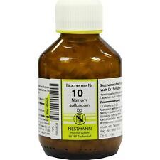 BIOCHEMIE 10 Natrium sulfuricum D6 Tabletten   400 st   PZN5955608