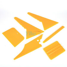 Yellow Window Tint Tools Kit Auto Film Tinting Scraper Application Installation