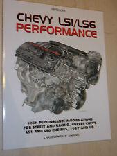 Chevy Chevrolet LS1 & LS6 Performance 5.7L V8 Engine Handbook Manual 1997-2003