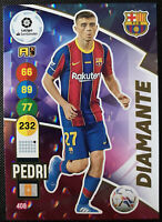 2020-21 Panini Adrenalyn XL La Liga DIAMANTE RC ROOKIE Pedri Barcelona #408