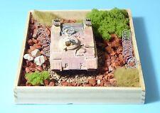 RK modelli DIORAMA con carro armato russo militare, 1:87 NVA, URSS 1:87 h0 molto bene
