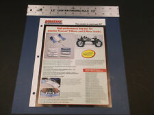 VINTAGE DURATRAX HP HOP-UP PARTS TRAXXAS T-MAX & E-MAXX BROCHURE  *G-COND*