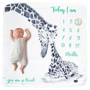 Baby Milestone Blanket Bundle - Perfect Baby Shower Gift - Mums to be - Pregnant