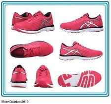 NIB ASICS Women's Gel-Zaraca 4 Running Shoes Size 10 Azalea/silver/black #489