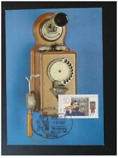 postal history telephone telecommunications maximum card Germany ref 802-10