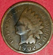 1902 Indian Head Cent   ID #4-2