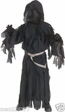 New Lord Of The Rings Child's Ringwraith Halloween Costume ghost small 4 - 6 yrs