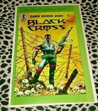 BLACK CROSS #1 COMIC BOOK 1ST APPEARANCE OF CONCRETE 1986 REISSUE HOT KEY