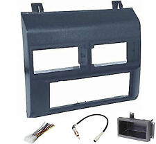 Dash Install Kit Car Stereo Radio Mounting Panel Bezel Trim Mount Blue Pkg