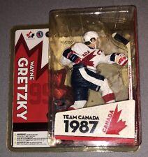 McFarlane Toys NHL Team Canada Wayne Gretzky 1987 New In Box 2005
