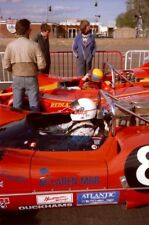 PHOTO  TED WILLIAMS (MARCH 707-CHEVROLET) AND DAVID FRANKLIN (MCLAREN M6B-CHEVRO