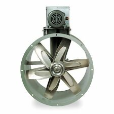 "Replacement 30"" Tubeaxial Fan & Motor Kit for Paint Spray Booth Exhaust (7F842)"