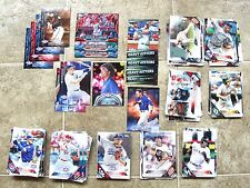 204 card lot of 2016 Topps Baseball Opening Day & Series One lot.  chase cards