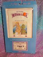 WORLDS OF WONDER TALKING MOTHER GOOSE BOOK/TAPE - THE TORTOISE & THE HARE - WOW!