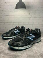 New Balance 470v4 Mens Size 12 Running Shoes Black Blue Silver M470BB4