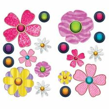 Borders Unlimited Summer Love Floral Flowers Wall Sticker Decals Kids Room Decor