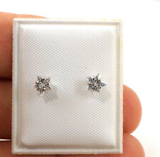 Toddler earrings safety backs 5MM STAR
