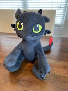 """Dreamworks How To Train Your Dragon TOOTHLESS 14"""" Plush Retired No Tags BABW"""