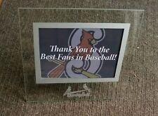 Springfield Cardinals season ticket holder appreciation picture frame 2017