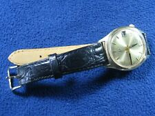 Bulova  Accutron.  Tuning Fork Watch. 14K Solid Gold Case.  Cal 218.
