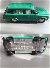 1:43 SCALE VINTAGE SOVIET USSR LADA VAZ 2102 GREEN MODEL
