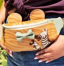 NWT Loungefly Disney Minnie Mouse Zebra Fanny Waist Pack LIMITED EDITION d23Expo