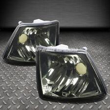 FOR 86-94 BMW E32 7-SERIES DEPO SMOKE HOUSING TINT OE FRONT CORNER SIGNAL LIGHT