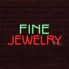Brand New Fine Jewelry 32x13x1 Inch Led Flex Indoor Sign 31399