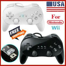 Nueva Consola De Controlador Pad Pro Clásico juego Joypad para Nintendo Wii Remoto Fa
