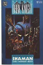 BATMAN LEGEND of the DARK KNIGHT #2-1990-DC- H.G 9.2 &UP/ #SHAMAN part 2 one 5