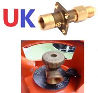 UK Bayonet LPG Filler to GAS Bottle Adapter SET NON RETURN VALVE INSIDE POL NEWW