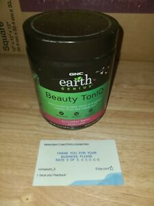 GNC Earth Genius Beauty TonIQ Cucumber Melon 7.6 Ounce 20 SERVINGS
