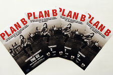 4 X PLAN B 2013 TOUR FLYER CARDS - BEN DREW - STRICKLAND BANKS ILL MANORS