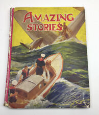 Amazing Stories Vintage Illustrated story book P R Gawthorn Ltd 1930/40s
