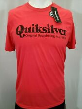 "New Quiksilver ""Distressed"" Men's Short Sleeve T-Shirt, Mult Colors, S-XL, Slim"