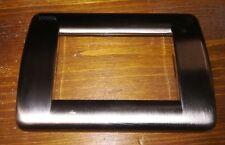 VIMAR IDEA PLACCA CROMO 3 MODULI RONDO' IN METALLO ART. 16753.36