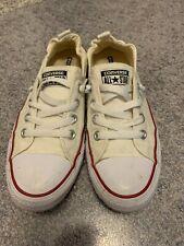 Size 8.5 - Converse Chuck Taylor All Star Shoreline OX White