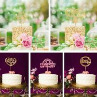 Cake Happy Birthday Cake Topper Card Acrylic Cake Party Decoration Supply
