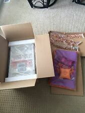 NEW IN BOX - RETIRED AMERICAN GIRL DOLL JULIE'S BED AND BEDDING FOR DOLLS