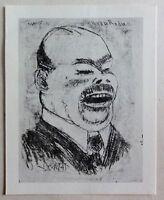 Georg Tappert (1880-1957) Kunstdruck von Lithographie von 1911: Roda Roda