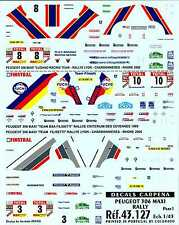 Colorado Decals 1/43 PEUGEOT 306 MAXI RALLY Part 1