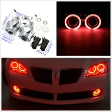 "2Pcs 2.5""HID Bi-xenon LHD/RHD Car Headlight With Light Guide Angel Eyes&Inverter"