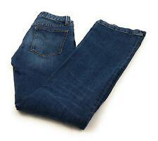 Gap 1969 Long & Lean Distressed Boot Cut Denim Blue Jeans Women's 24R Actual 26