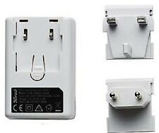 TRUST UNIVERSAL 220-240V AC TO USB CHARGER WITH UK & EU CLIP-IN ADAPTORS