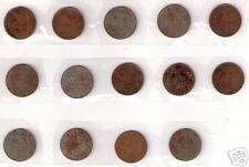 BRITISH INDIA VICTORIA 1/12 ANNA COINS 1883 1886 1887 1889-1895 1897-1899 1901#8