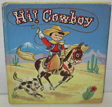 "1950 ""Hi Cowboy!"" Whitman Tell-A-Tale Book"