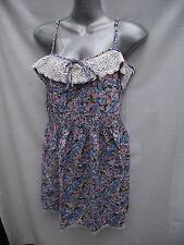 BNWOT Womens Sz 8 Jay Jays Pretty Floral Lace Detail Dainty Strap Dress RRP $40