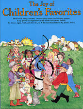 The Joy Of Children's Favourites Learn to Play Piano Guitar PVG Music Book